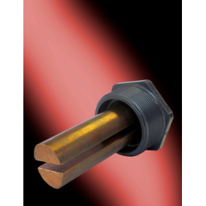 """CLE-05 COMMERCIAL ELECTRODES 6"""" LONG IN 3"""" PLUG"""